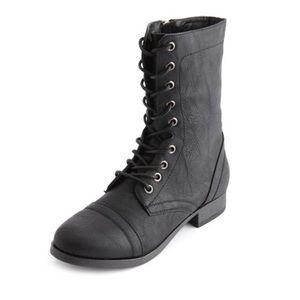 Charlotte Russe | Combat Boots | Black